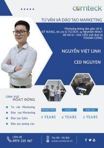 Ông Nguyễn Việt Linh - Ced Nguyen - CEO Công ty Cổ phần Truyền thông và Công nghệ Comteck Việt Nam