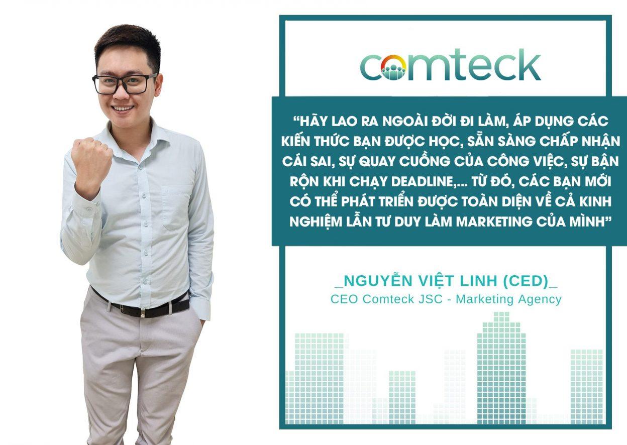 Nguyễn Việt Linh - CEO Comteck Việt Nam